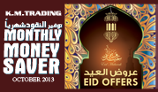 Monthly Money Saver October 2013