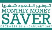 Monthly Money Saver December 2016 - January 2017