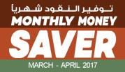 Monthly Money Saver March- April 2017