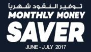 Monthly Money Saver June - July 2017