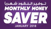 Monthly Money Saver - January 2018