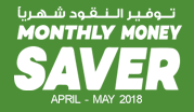 Monthly Money Saver  April - May 2018