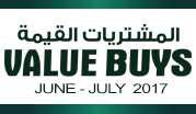 Value Buys June - July 2017