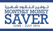 Monthly Money Saver June - July 2016