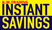 Instant Savings March - April 2017